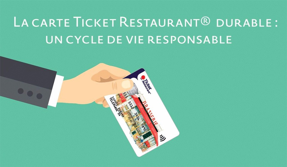 TICKET RESTAURANT® : La carte plus durable que le titre papier