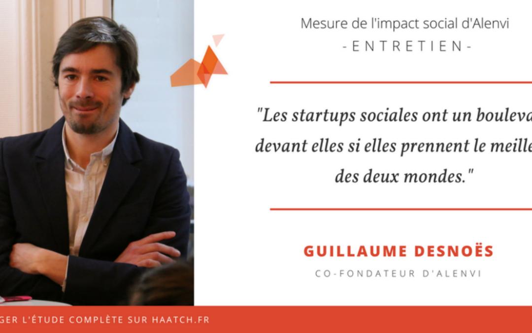 Rencontre avec Guillaume Desnoës, co-fondateur d'Alenvi